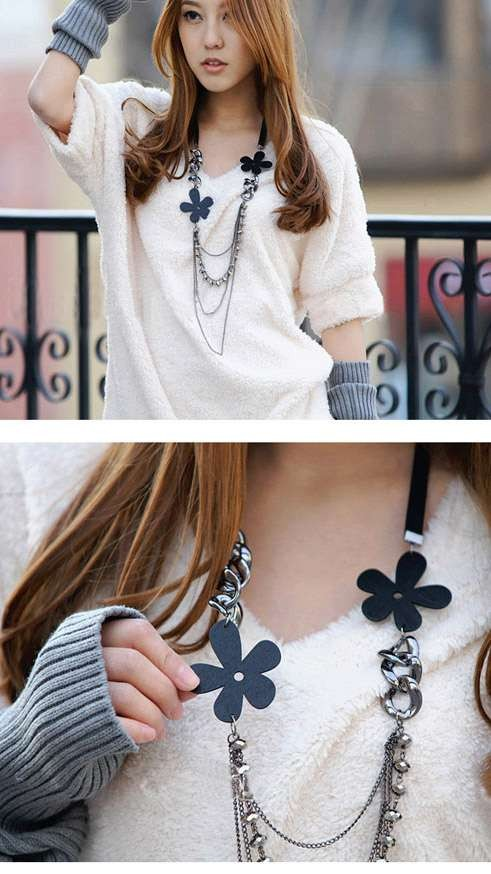 Funny Faces Necklace (3010004)