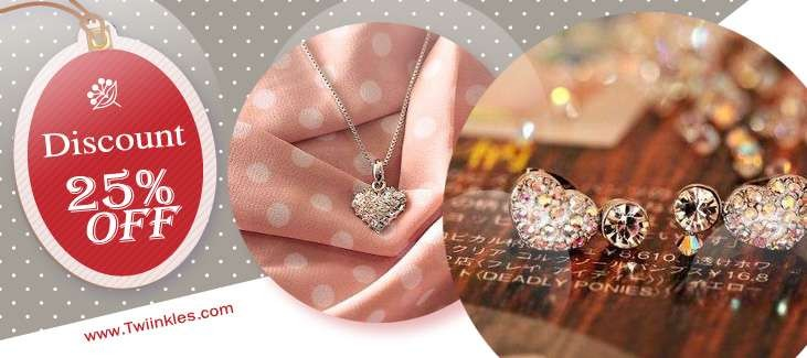 Flowery Pink Rose Necklace (3010002)